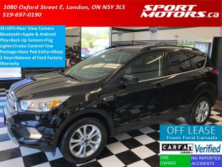 Used 2017 Ford Escape SE+GPS+Apple & Android Play+Camera+Bluetooth for sale in London, ON