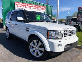 Used 2013 Land Rover LR4 LUX for sale in Burlington, ON