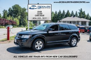 Used 2011 Dodge Journey SXT, Low 134k, 3rd Row Seats, Sunroof, Clean! for sale in Surrey, BC
