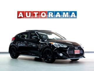 Used 2015 Hyundai Veloster TURBO LEATHER SUNROOF NAVI BACKUP CAM for sale in Toronto, ON