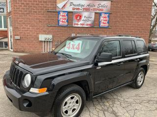 Used 2010 Jeep Patriot Sport/4X4/NO ACCIDENT/SAFETY INCLUDED for sale in Cambridge, ON