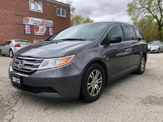 Used 2012 Honda Odyssey EX/8 SEATS/DVD/POWER SLIDING DOORS/CERTIFIED for sale in Cambridge, ON