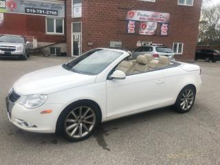 Used 2008 Volkswagen Eos Lux/2L/TURBO/NO ACCIDENT/SAFETY INCLUDED for sale in Cambridge, ON