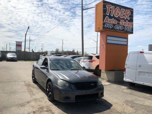 2006 Nissan Altima 3.5 SE-R**DUAL EXHAUST**RIMS**LOADED**AS IS