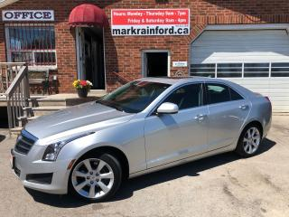 Used 2014 Cadillac ATS RWD Back Up Cam Bluetooth 2.0T Sunroof for sale in Bowmanville, ON