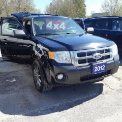 Used 2012 Ford Escape XLT for sale in Orillia, ON