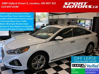 Used 2019 Hyundai Sonata Essential W/Sport PKG+Sunroof+Blind Spot+Apple Pla for sale in London, ON
