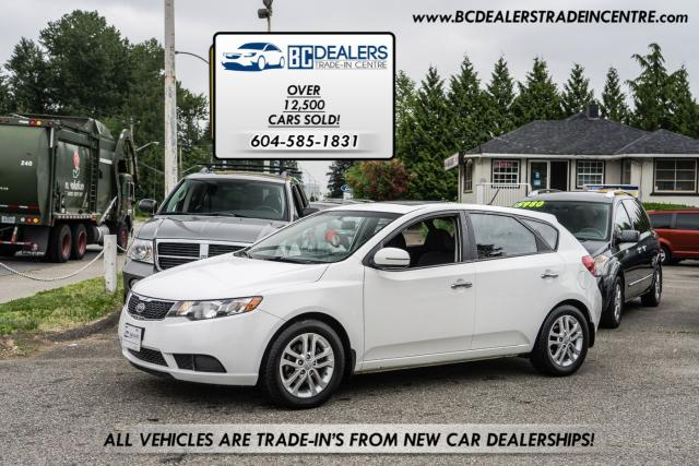 2012 Kia Forte5 EX 5-Door Hatchback w/Sunroof, Local BC Car!