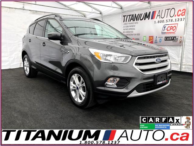 2018 Ford Escape SE+4X4+Camera+Pano Roof+Apple Play+Heated Seats+XM