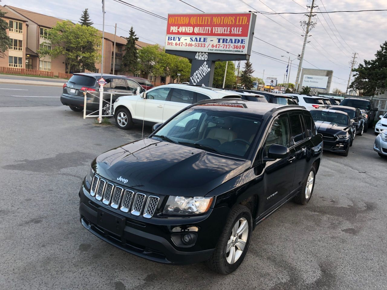 Ontario Quality Motors >> 2014 Jeep Compass Ontario Quality Motors Ltd