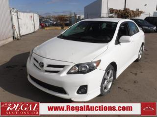 Used 2012 Toyota Corolla S 4D Sedan AT 1.8L for sale in Calgary, AB