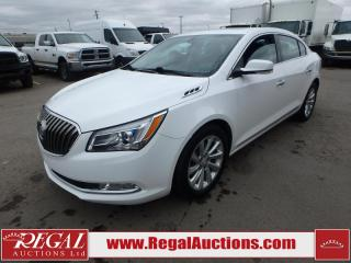 Used 2015 Buick LACROSSE LEATHER 4D SEDAN 3.6L for sale in Calgary, AB
