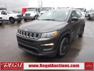 Used 2017 Jeep Compass 2017.5 Sport 4D Utility FWD 2.4L for sale in Calgary, AB