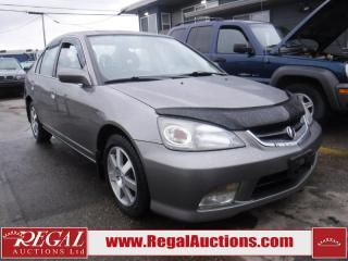 Used 2005 Acura EL Touring 4D Sedan for sale in Calgary, AB