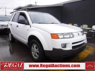 Used 2002 Saturn VUE  4D UTILITY 3.0L AWD for sale in Calgary, AB