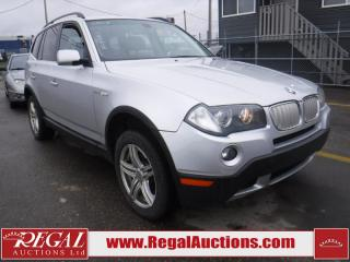 Used 2008 BMW X3 3.0SI 4D UTILITY AWD for sale in Calgary, AB