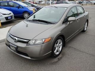 Used 2007 Honda Civic EXCELLENT CONDITION/ONLY 120 KMS! for sale in Hamilton, ON
