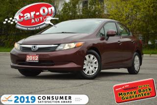 Used 2012 Honda Civic A/C CRUISE BLUETOOTH PWR GRP ONLY $64 B/W o.a.c for sale in Ottawa, ON