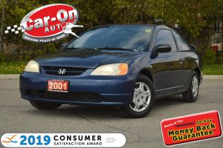 Used 2001 Honda Civic SUNROOF A/C CRUISE POWER GRP for sale in Ottawa, ON