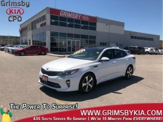Used 2018 Kia Optima SXL Turbo/Nappa Leather/Panoramic sunroof/Loaded!! for sale in Grimsby, ON