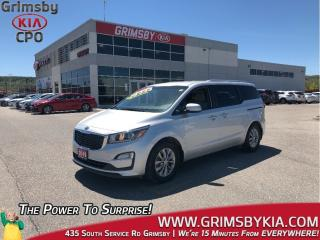 Used 2019 Kia Sedona LX+| 3rd Row| Backup Cam| Heat Seat & Steer for sale in Grimsby, ON