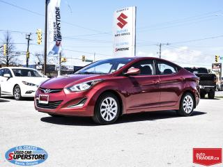 Used 2015 Hyundai Elantra L for sale in Barrie, ON