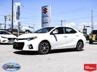 Used 2015 Toyota Corolla S for sale in Barrie, ON