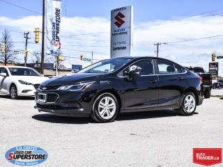 Used 2018 Chevrolet Cruze LT ~Heated Seats ~Power Moonroof ~Backup Camera for sale in Barrie, ON