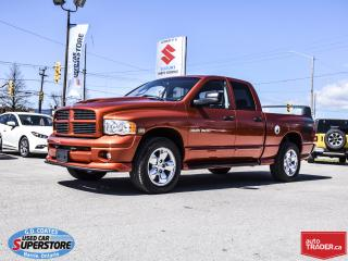 Used 2005 Dodge Ram 1500 Daytona Quad Cab 4x4 ~ONLY 25,000 KM! ~MUST SEE! for sale in Barrie, ON