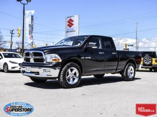 Used 2009 Dodge Ram 1500 SLT Quad Cab 4x4 ~ONLY 121,000 KM  ~20 Inch Wheels for sale in Barrie, ON