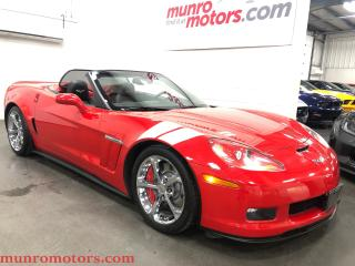 Used 2011 Chevrolet Corvette Grand Sport Mag Ride NPP 3LT NAV HUD for sale in St. George Brant, ON