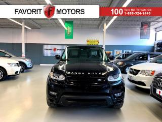 Used 2015 Land Rover Range Rover Sport AUTOBIOGRAPHY *CERTIFIED!* |7 PASS.|DVD|360 CAM| for sale in North York, ON