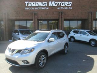 Used 2015 Nissan Rogue SL PREMIUM   AWD   NAVIGATION   360 CAM   LEATHER   SUNROOF for sale in Mississauga, ON