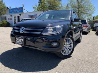 Used 2017 Volkswagen Tiguan 4MOTION 4dr Comfortline for sale in Brampton, ON