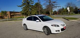 Used 2008 Mazda MAZDA3 4dr Sdn GT for sale in Mississauga, ON