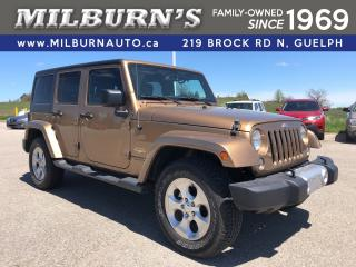 Used 2015 Jeep Wrangler Unlimited Sahara for sale in Guelph, ON