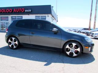 Used 2011 Volkswagen GTI 2.0T Coupe Hatchback 6 Speed Manual Certified 2Yr Warranty for sale in Milton, ON