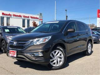 Used 2015 Honda CR-V EX-L - Leather - Sunroof - Alloys for sale in Mississauga, ON