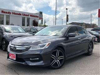 Used 2017 Honda Accord Sedan Touring V6 - Navigation - Leather - Sunroof for sale in Mississauga, ON