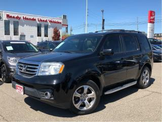 Used 2014 Honda Pilot EX-L - Leather - Sunroof - Alloys for sale in Mississauga, ON