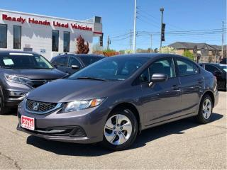 Used 2014 Honda Civic Sedan LX - Bluetooth - Heated Seats for sale in Mississauga, ON