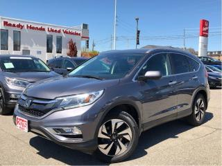 Used 2015 Honda CR-V Touring - Navigation - Leather - Sunroof for sale in Mississauga, ON