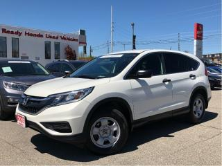 Used 2015 Honda CR-V LX - Rear Camera - Bluetooth for sale in Mississauga, ON