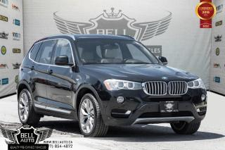 Used 2016 BMW X3 xDrive28i, AWD, NAVI, BACK-UP CAM, PANO ROOF, SENSORS, PUSH START for sale in Toronto, ON