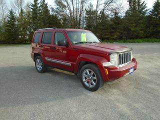 Used 2008 Jeep Liberty LIMITED for sale in Beaverton, ON