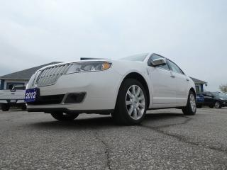 Used 2012 Lincoln MKZ LEATHER- BACKUP SENSOR- HEATED SEATS- LOW KM for sale in Essex, ON