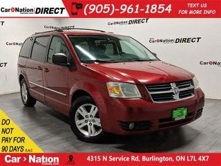 Used 2008 Dodge Grand Caravan SE| AS-TRADED| DVD| BACK UP CAMERA| for sale in Burlington, ON