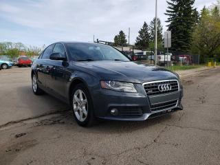 Used 2009 Audi A4 2.0T-PREMIUM-AWD-SUNROOF-LOW MONTHLY PAYMENTS!! for sale in Edmonton, AB
