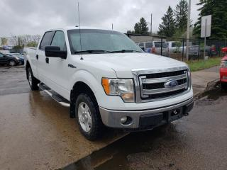 Used 2014 Ford F-150 XLT-CREW-4X4-NO ACCIDENTS-LOW MONTHLY PAYMENTS!! for sale in Edmonton, AB
