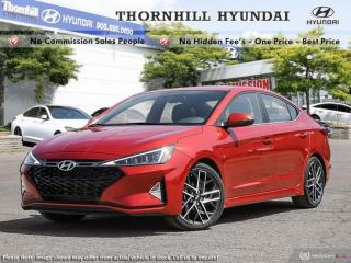 New 2019 Hyundai Elantra Sport MT  - Sunroof -  Leather Seats for sale in Thornhill, ON